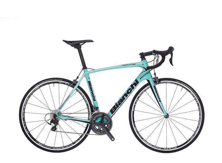 Bianchi Infinito CV 2017 - Ultegra 11sp Compact-1H - CK16/Black white glossy-50