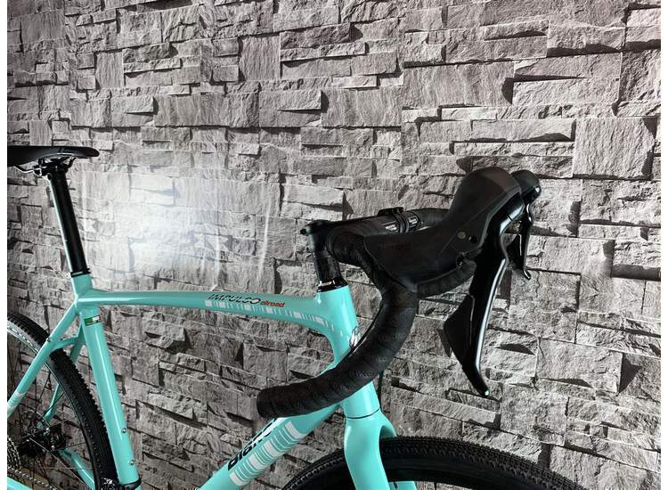 Bianchi IMPULSO ALLROAD - 105 11sp Hydr brake Drop flare Handlebar - Modell 2018 1D - CK16 Glossy 61