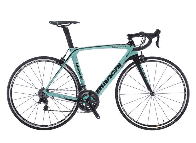 Bianchi Oltre XR3 - Shimano 105 11sp Compact 52/36 Modell 2018 - RH 53