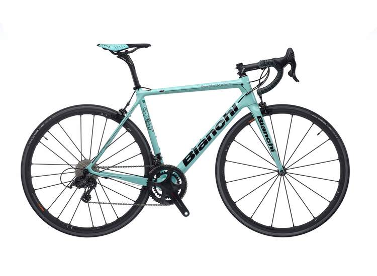 Bianchi Specialissima - Campagnolo Super Record 12sp Compact - 2020 50 2A - CK16/Black glossy