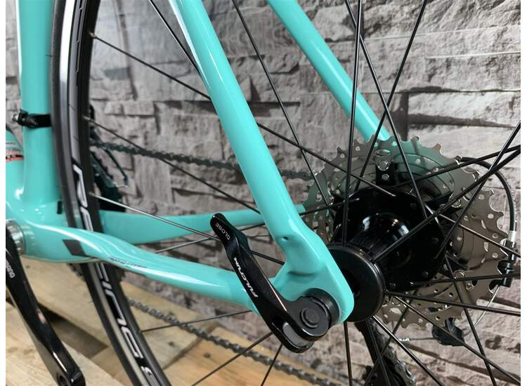 Bianchi Intenso - Shimano 105 11sp Compact - 2019 47 2A - CK16/black full glossy