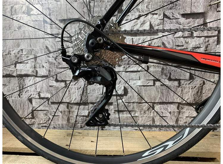 Bianchi Via Nirone 7 - Shimano 105 11sp Compact - 2019 63 Black/red-graphite full glossy