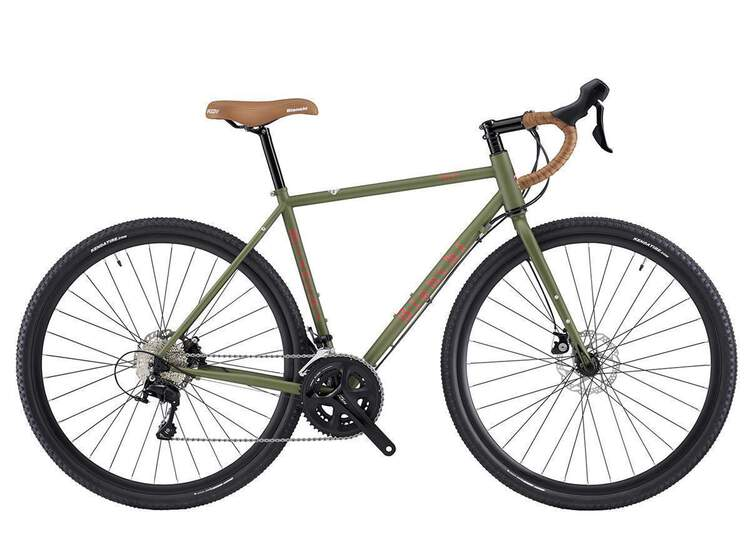 Bianchi Orso - 105 11sp Compact Hydr. brake - 2020 57 3Z - military green