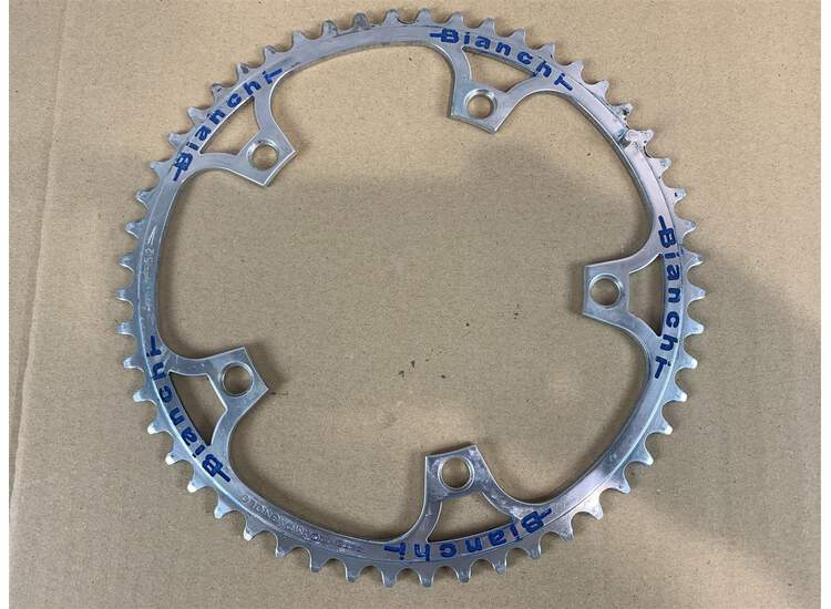 Chainring 70s Engraving Bianchi Campagnolo Super Record - 52