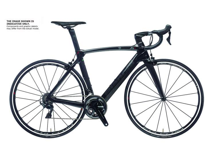 Bianchi XR4 Super Record EPS 5K -CK16 / Black Full Glossy 44