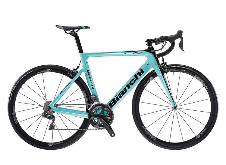 Bianchi Aria - Shimano Ultegra 11sp Compact - 2020 1D - CK16/black full glossy 55