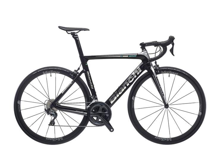 Bianchi Aria - Shimano Ultegra 11sp Compact - 2020 1D - CK16/black full glossy 57