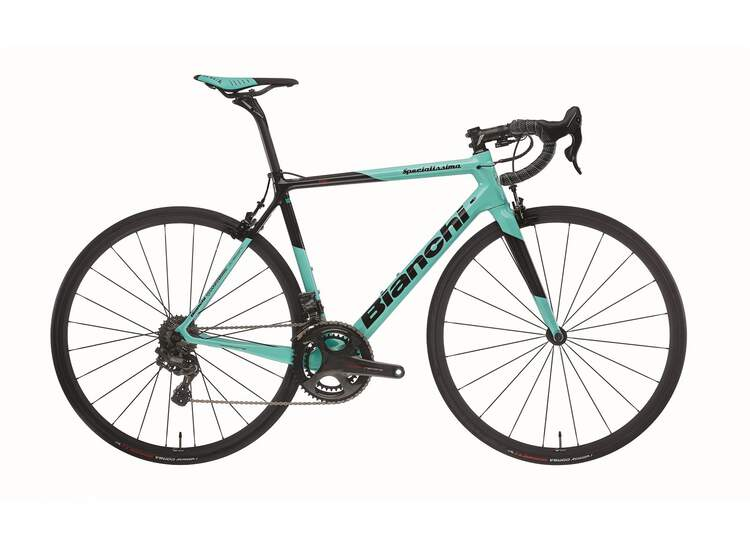 Bianchi Specialissima - Campagnolo Super Record EPS 12sp 52/36 - 2020 5K-CK16 / Black Full Glossy 55