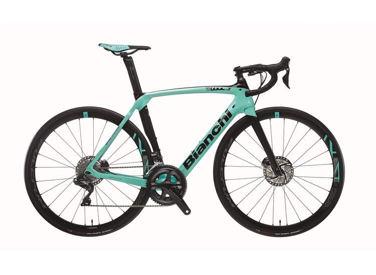 Bianchi Oltre XR3 - Shimano Ultegra Di2 11sp compact 2020 5K - CK16 / Black Full Glossy 47