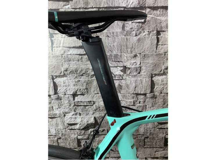 Bianchi XR3 Campagnolo Record 2R - Black / Graphite Full Glossy 53