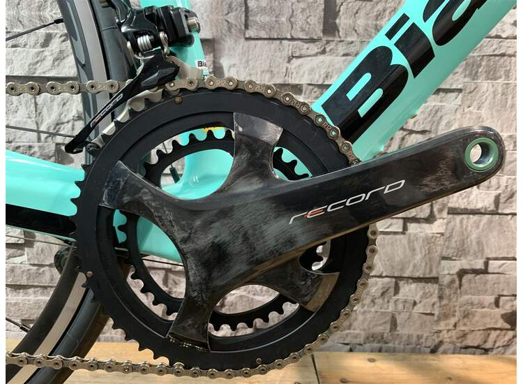 Bianchi XR3 Campagnolo Record 2R - Black / Graphite Full Glossy 59