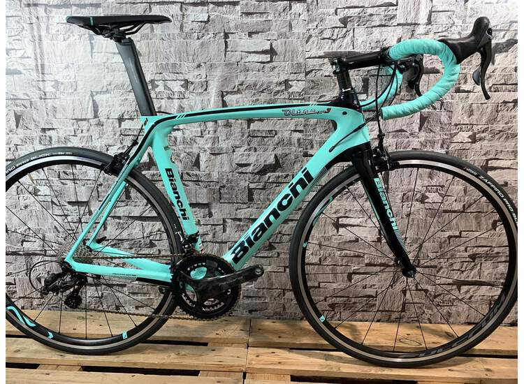 Bianchi XR3 Campagnolo Record 5K - CK16 / Black Full Glossy 55