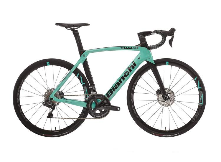 Bianchi Road Bike Oltre Xr4 Disc- Ultegra Di2 11sp Compact - Racing 418 Db - 2021