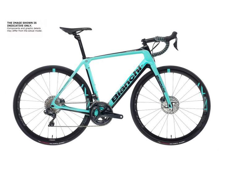 Bianchi Road Bike Infinito Cv Disc- Ultegra 11sp Compact - Trimax 30 Db - 2021