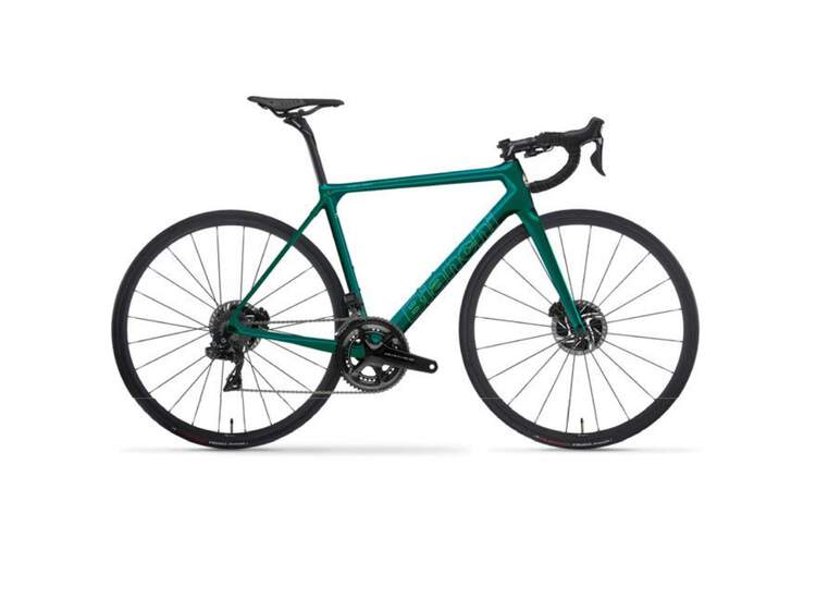 Bianchi Road Bike Specialissima Disc- Super Record Eps 12sp Compact - Wind 400 Db - 2021