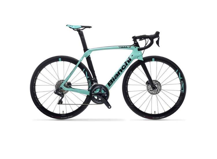 Bianchi Road Bike Oltre Xr3 Disc Carbon- Ultegra Di2 11sp Compact - Racing 418 Db SS 2021