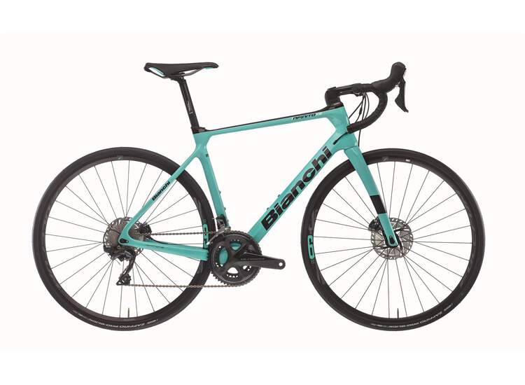 Bianchi Rennrad INFINITO XE Disc- 105 11sp Compact - 2021 5H - Black / CK16 Graphite Full Glossy 50
