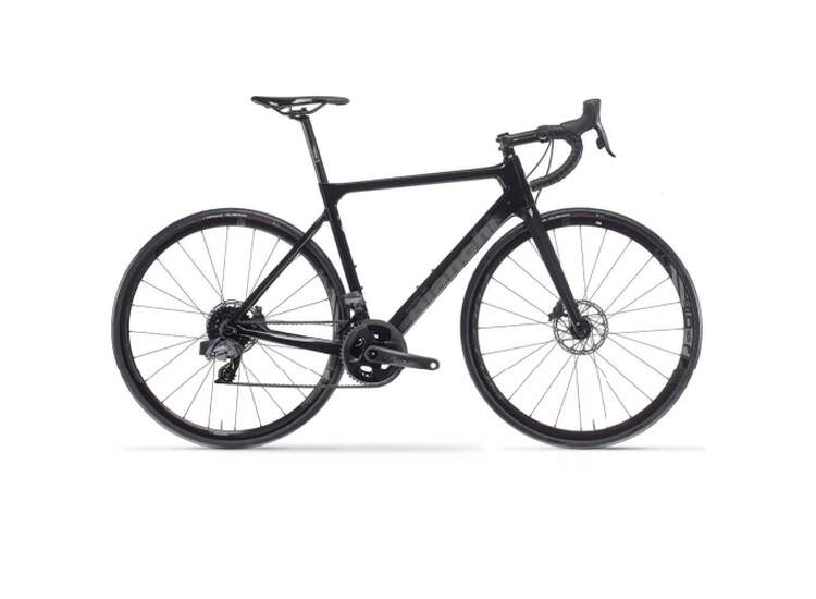 Bianchi Rennrad SPRINT Disc- 105 11sp Compact - Vision Team 30 - 2021 1D CK16 / Black Full Glossy 50