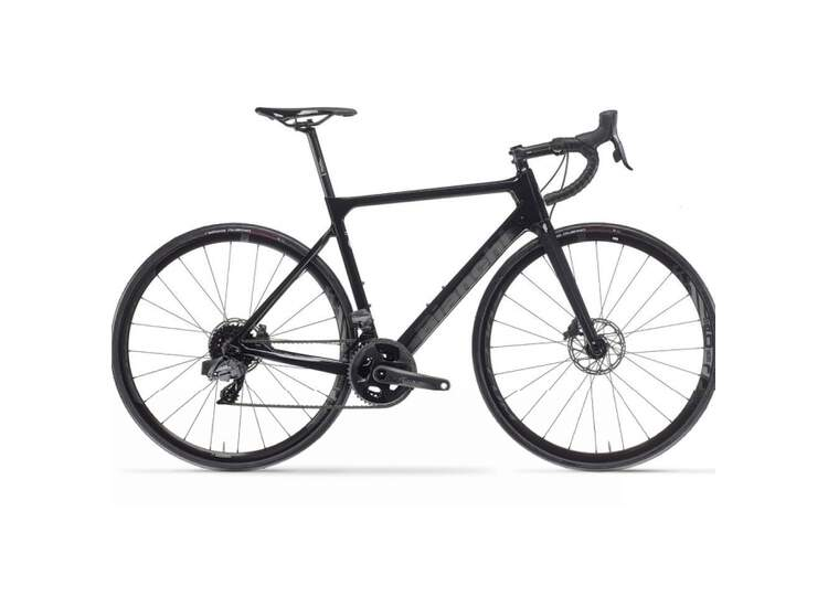 Bianchi Rennrad SPRINT Disc- Ultegra 11sp Compact - Vision Team 30 - 2021 SW - Black/Graphite Glossy 53