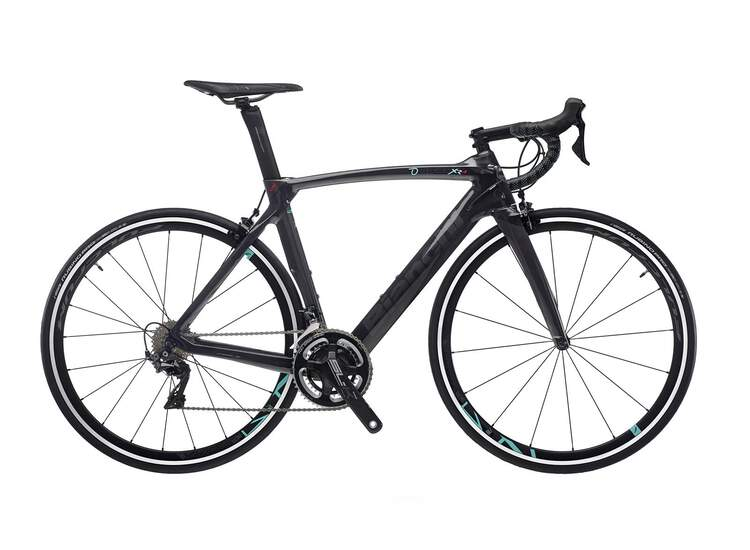 Bianch Rennrad OLTRE XR4- Ultegra Di2 11sp Compact - Vision Trimax 35 - 2021 2R-Black / Graphite Full Glossy 55