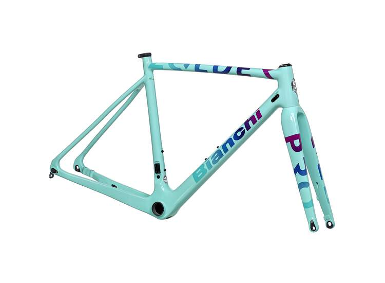 Bianchi Zolder Pro FRAME KIT Z2 - Black/Purple rainbow 50